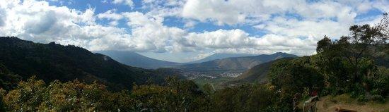 Earth Lodge landscape view