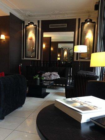 Hotel Eiffel Seine : foto lobby 1