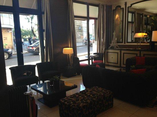 Hotel Eiffel Seine : lobby