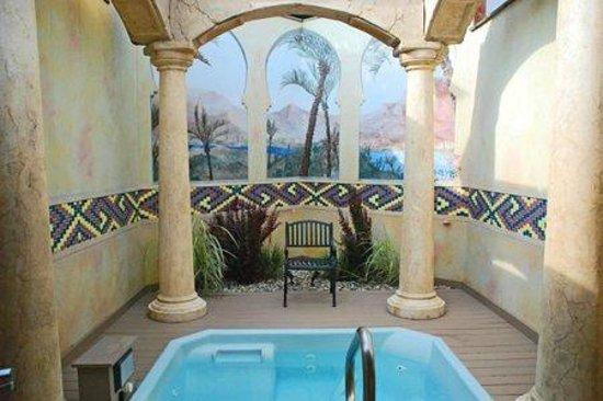 Oasis Hot Tub Gardens Casablanca