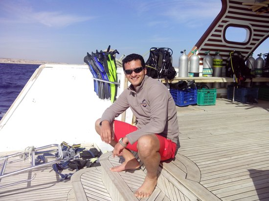 Diving Ocean Makadi Bay : captain sparrow