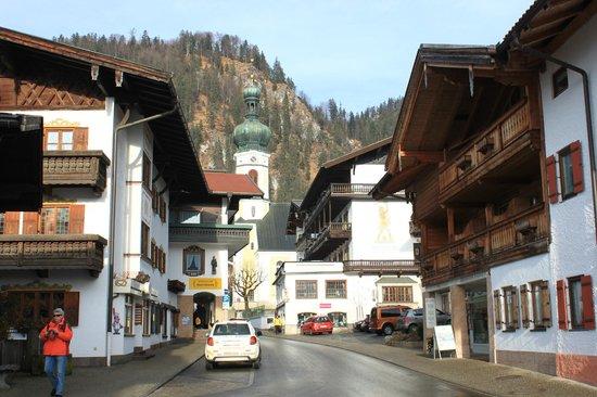 Haus Alpenlicht: Вид на Ратушу