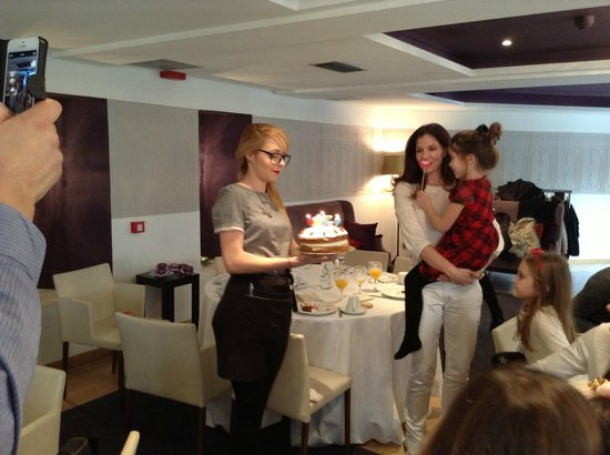 The Excelsior Bistro: That's me blowing out my Birthday Candles!