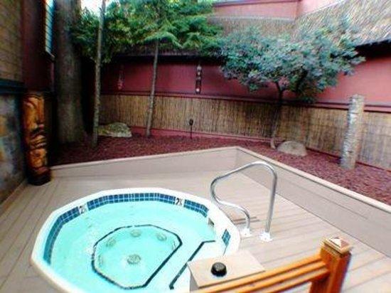 Polynesian Picture Of Oasis Hot Tub Gardens Kalamazoo