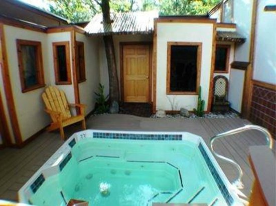 Gazebo Picture Of Oasis Hot Tub Gardens Kalamazoo
