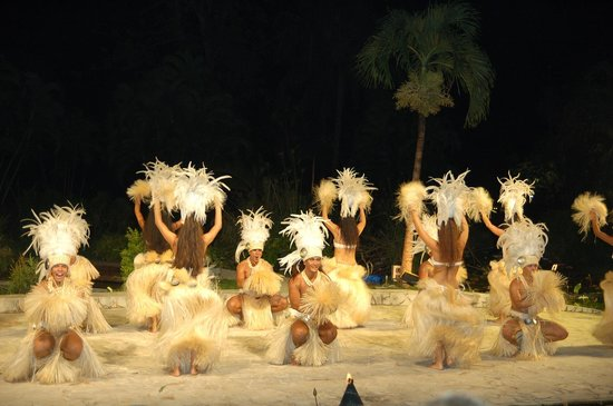 Le Meridien Tahiti: show polynésien