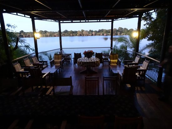 Mukambi Safari Lodge: Sitting Area