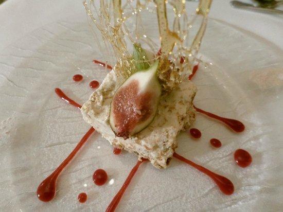 Sawrey House Hotel Restaurant: Iced Honey Nougat Glace