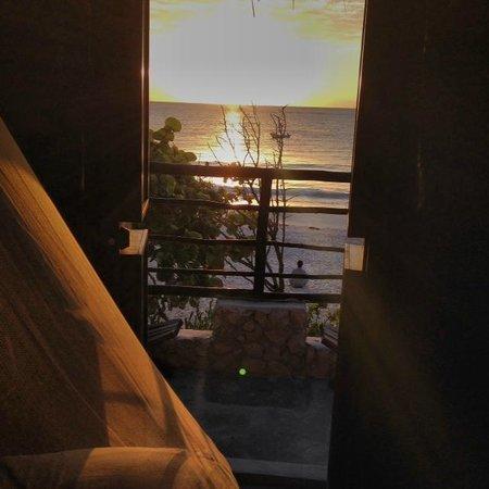 Playa Esperanza: Vista a Playa Paraiso, Tulum