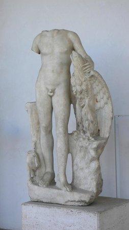 National Roman Museum - The Baths of Diocletian: Skulptur im Kreuzgang