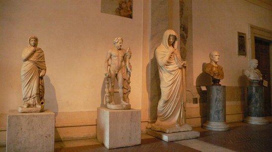 Terme di Diocleziano: Skulpturen im Museum