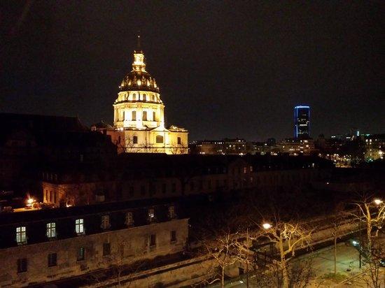 Hotel de l'Empereur: Veduta dalla stanza (notte)