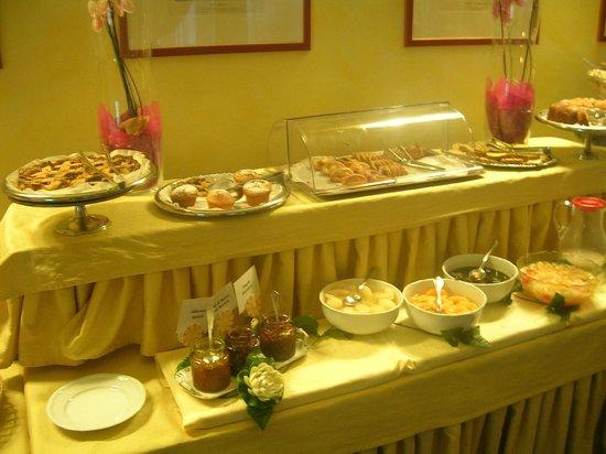 Hotel Eur: Frühstücksbuffet