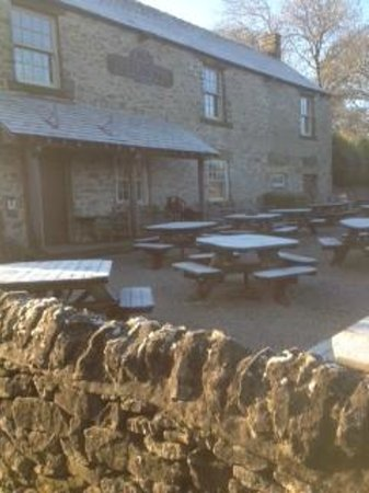 Monsal Head Hotel: Outside of the Stables