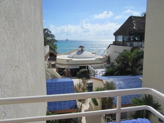 Playa Maya: View from 2nd floor room