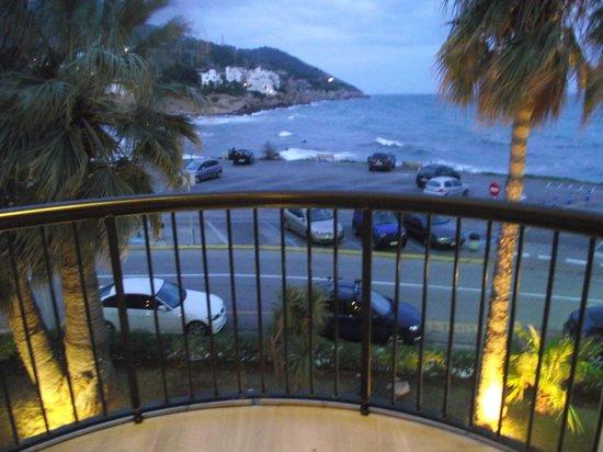 Hotel Estela Barcelona - Hotel del Arte : vistas al mar