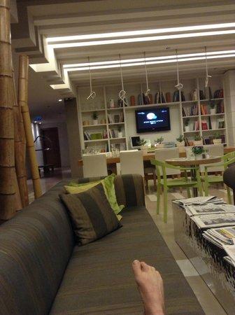 Sadot Hotel: Recepção