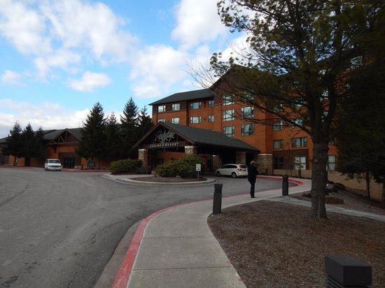 Rocky Gap Casino Resort : Main entrance or resort