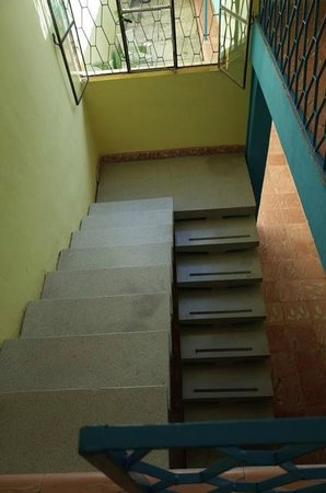 Hotel Maria Guadalupe: Stairwell
