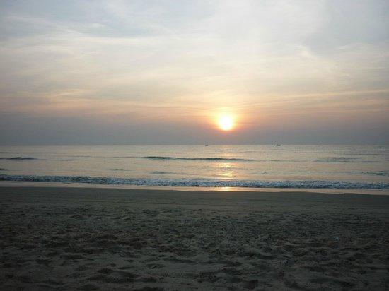 The Goa Village Inn: Закат на Южном Гоа