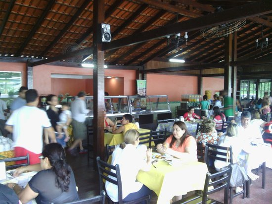 Cafe Regional Tapiri: Área interna
