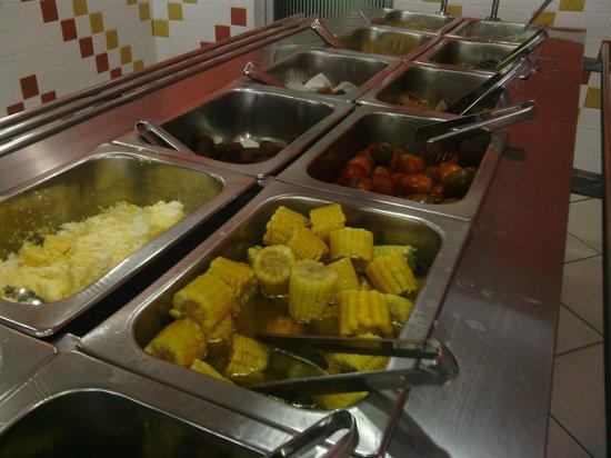 Cafe Regional Tapiri: Pratos quentes