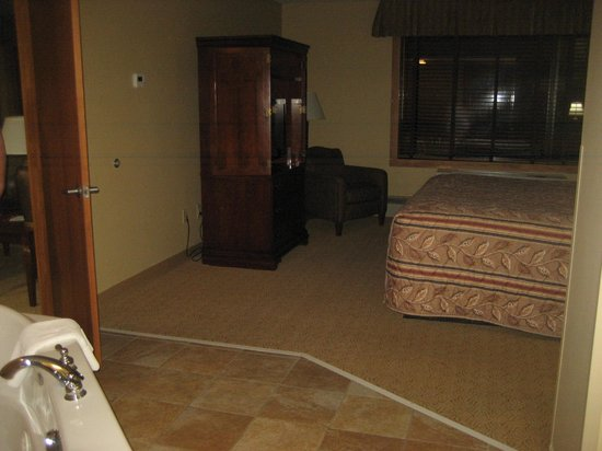 Grand Portage Lodge and Casino: Bedroom