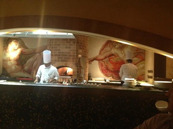 MSR Hotel & Spa Bangalore: nice italian restaurant!