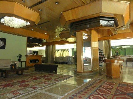 Hotel Pan Americano: Recepción