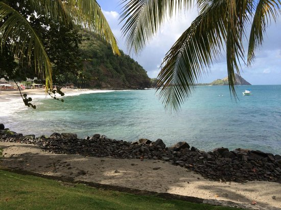 BodyHoliday Saint Lucia: Looking across the cove