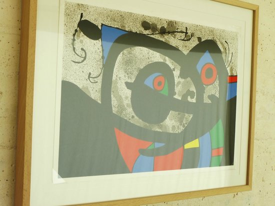 Pilar and Joan Miro Foundation in Mallorca: painting