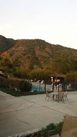 Hidden Valley Inn: View from room #4