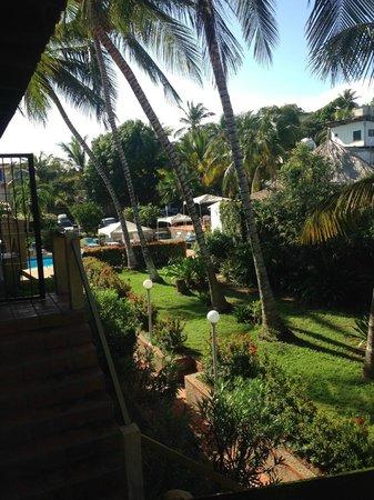 Villa Cabo Blanco: Vista do apartamento para as áreas comuns