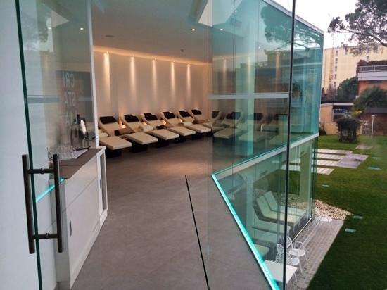 Panoramic Hotel Plaza: Cristalia zona relax