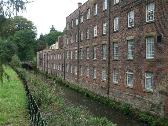 Quarry Bank Mill : The Mill