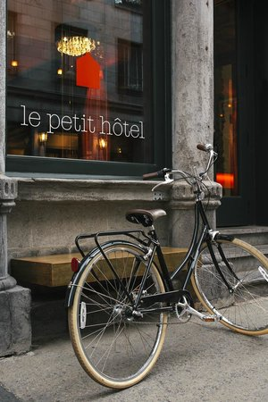 Le Petit Hotel: Complimentary bicycles for guests