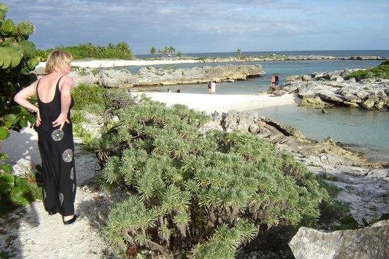 Grand Sirenis Riviera Maya Resort & Spa : view from the lifeguards spot