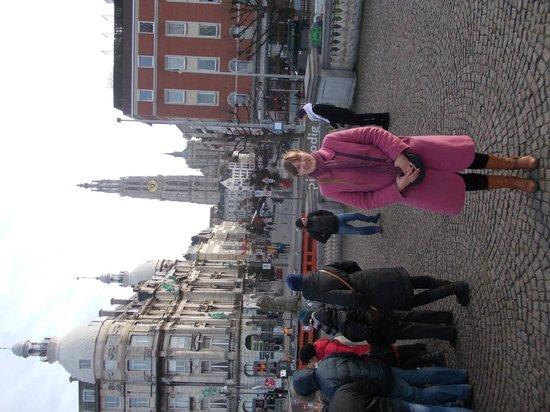 Liebfrauenkathedrale (Onze-Lieve-Vrouwekathedraal): вид города с набережной.