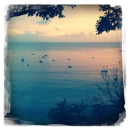 Castara Retreats : Sunset from Coasthanger