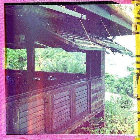 Castara Retreats : View from Balcony to Coasthanger