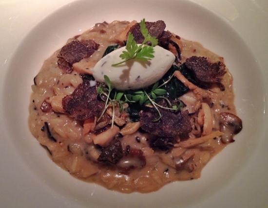 Belmond Le Manoir aux Quat'Saisons: A wonderful mushroom risotto with black truffles