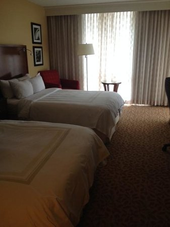 Marriott St. Louis Airport: View of Room