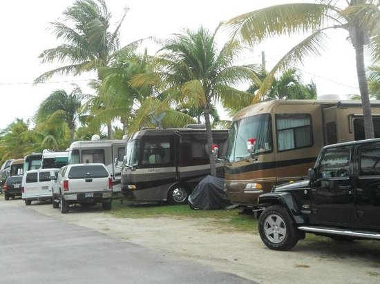 Boyd's Key West Campground: Crowded with no parking