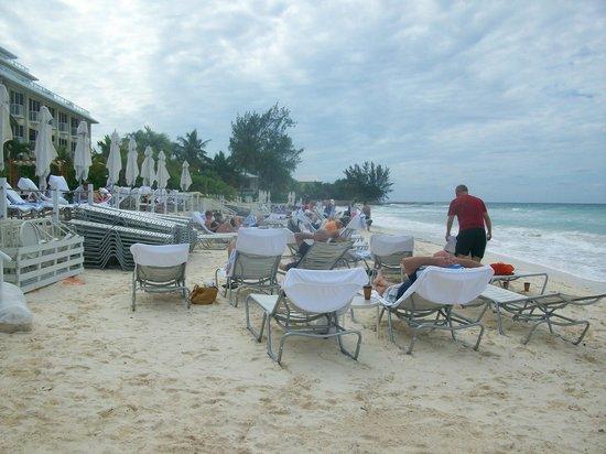 Grand Cayman Marriott Beach Resort: Size of the Marriott beach