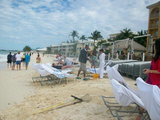Grand Cayman Marriott Beach Resort: Not much!