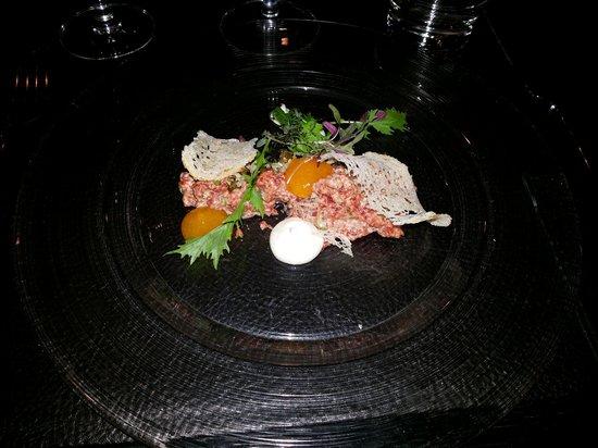 Stefan's Steakhouse, Helsinki: tartare as a starter