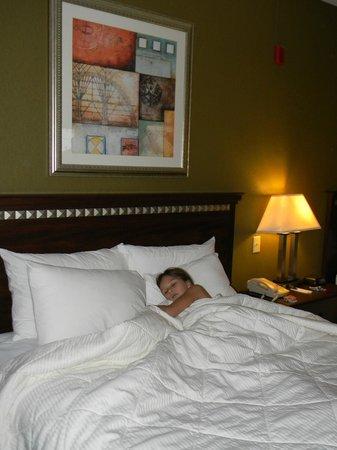 Comfort Inn & Suites: Ready to sleep