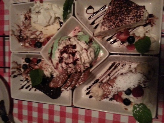 Gabriella's Italian Grill & Pizzeria: The amazing dessert sampler.  oh my soooo good