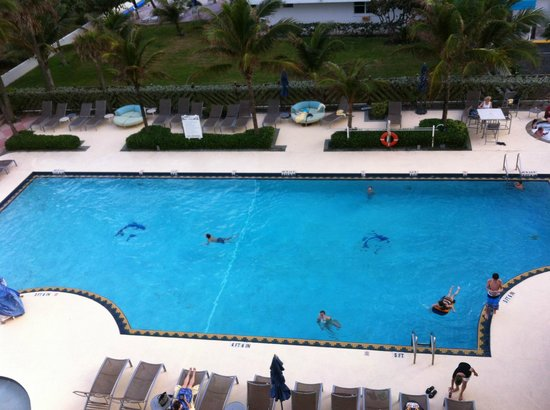 Hilton Singer Island Oceanfront/Palm Beaches Resort: Pool of the hotel