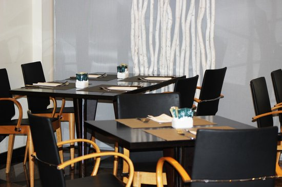 Abba Sants Hotel : Tables restaurant & bar